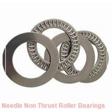 0.709 Inch | 18 Millimeter x 0.866 Inch | 22 Millimeter x 0.551 Inch | 14 Millimeter  CONSOLIDATED BEARING K-18 X 22 X 14  Needle Non Thrust Roller Bearings