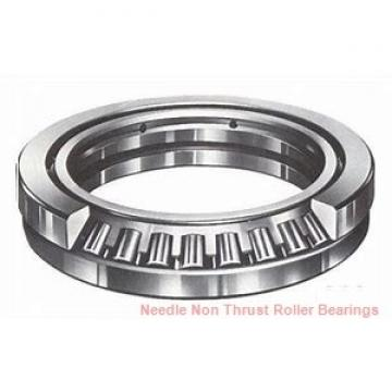 0.787 Inch | 20 Millimeter x 0.945 Inch | 24 Millimeter x 0.551 Inch | 14 Millimeter  CONSOLIDATED BEARING K-20 X 24 X 14  Needle Non Thrust Roller Bearings
